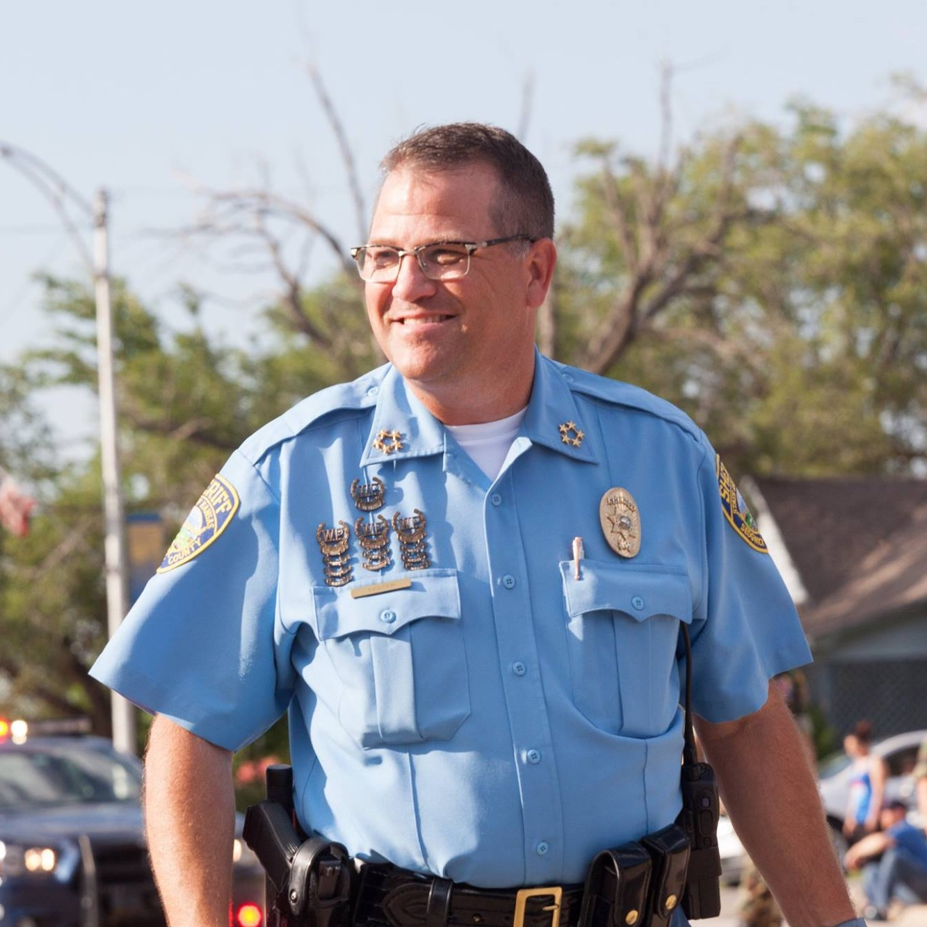 Sedgwick county sheriff jeff easter -