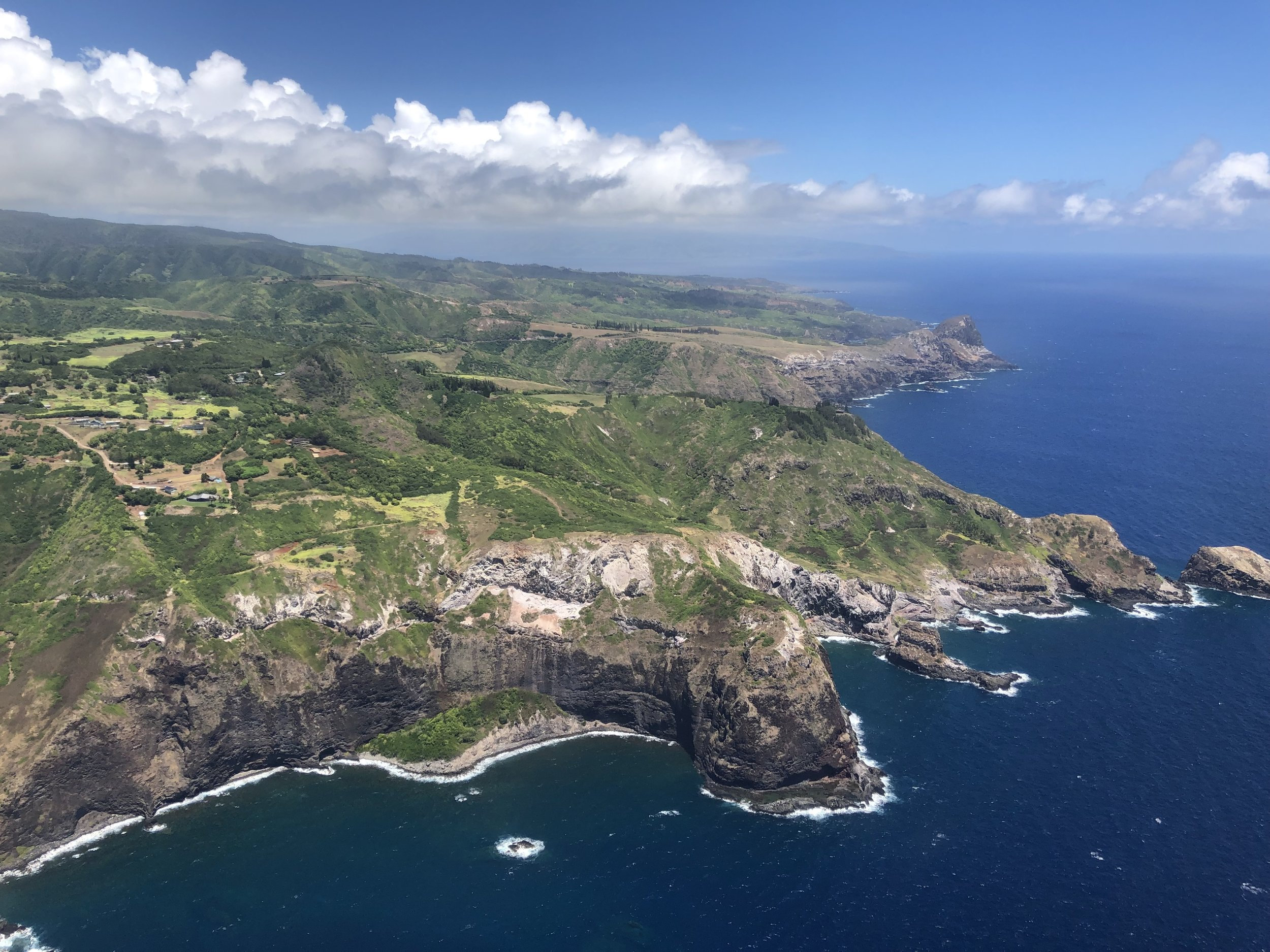 Helicopter views too good not to share…