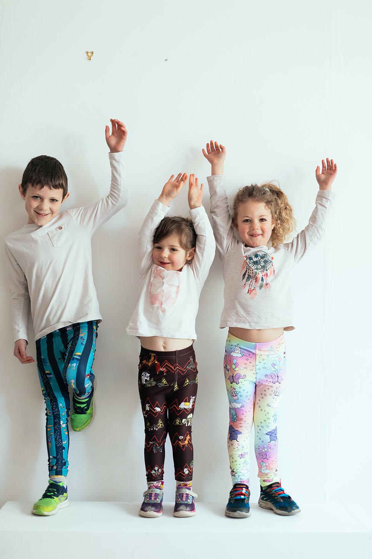 KIDS LEGGINGS - The fun starts here…