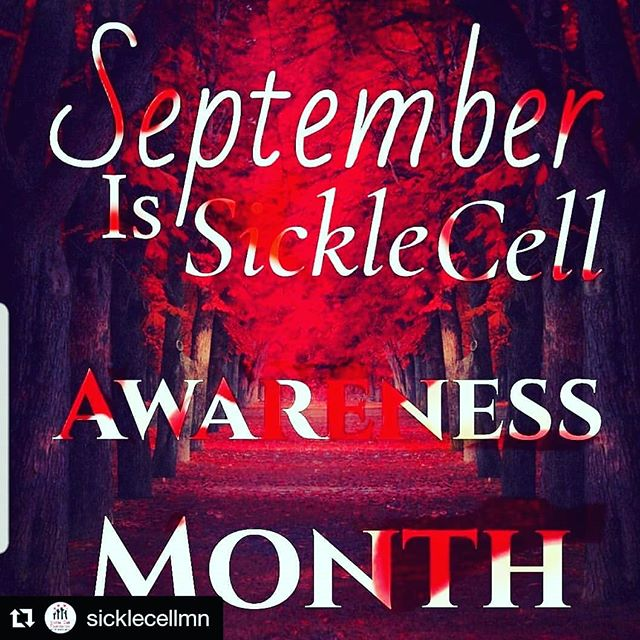 This month let's give Sickle Cell Disease the attention it deserves  #sicklecellawareness #sicklecellawarenessmonth #aaw #AndreasAngelWalk #sicklewarrior #sicklecell #talkaboutit #starttheconversation