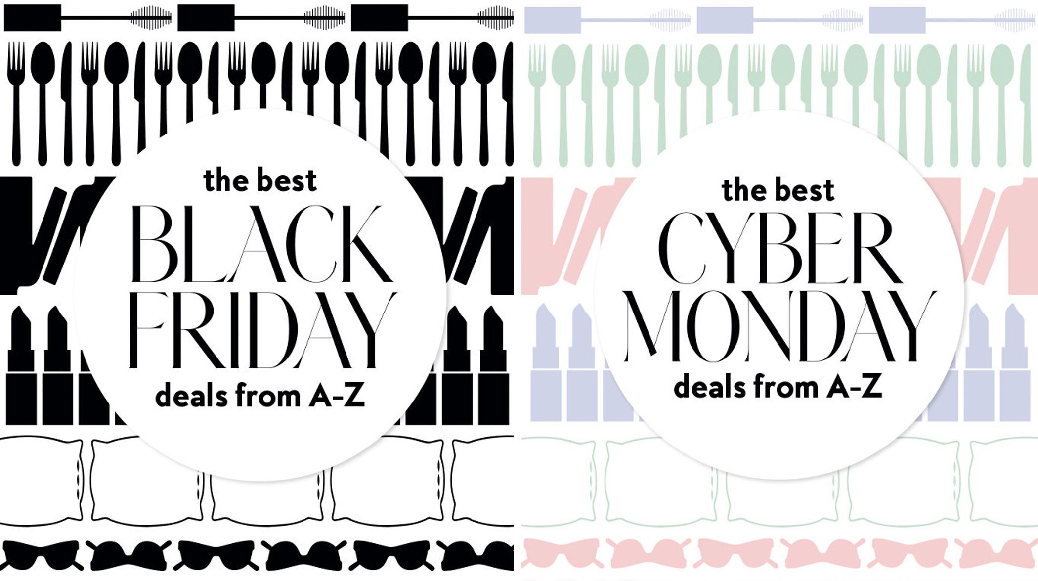 Cyber Monday and Black Friday Shopping - InStyle.com, November 2017illustration by Mariya Ivankovitser