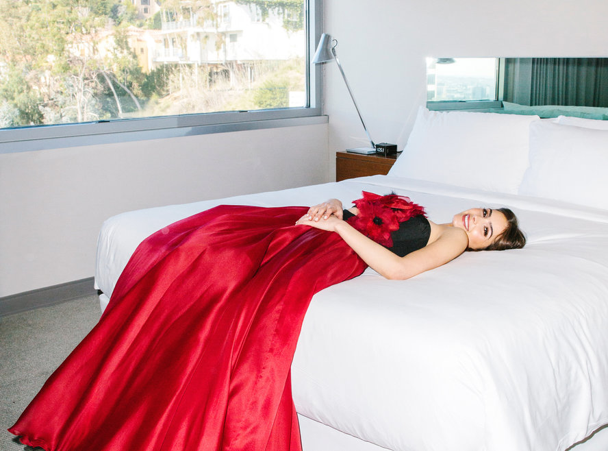 Olivia Culpo's Go Red for Women NYFW Dress Diary - InStyle.com, February 2016photo by Nathaniel Wood