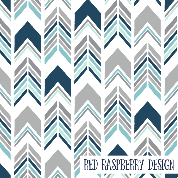 Chevron Arrows by Red Raspberry Design