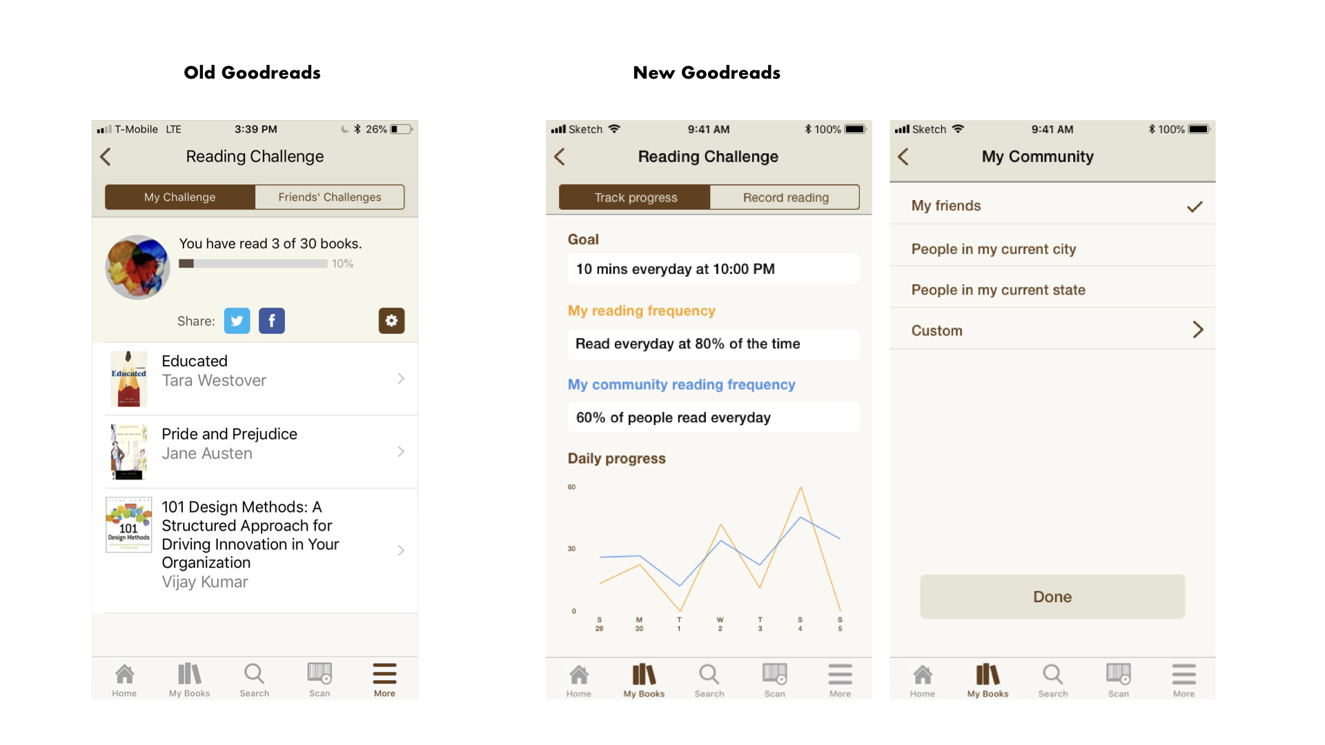 Goodreads redesign app compare.004.jpeg