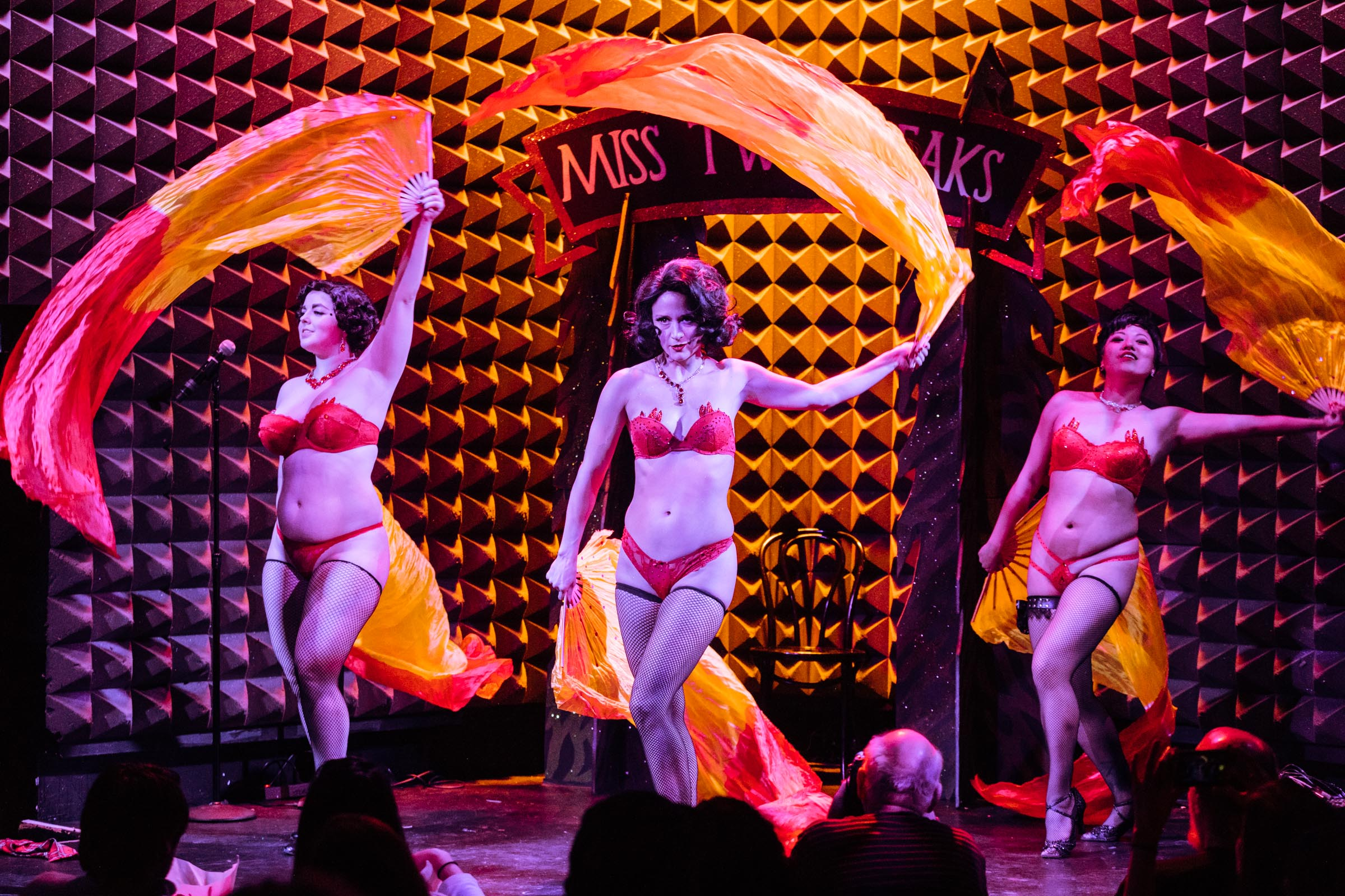 The Pink Room Dreams at the Miss Twin Peaks Pageant at Joe's Pub - Photo by Sachyn Mital