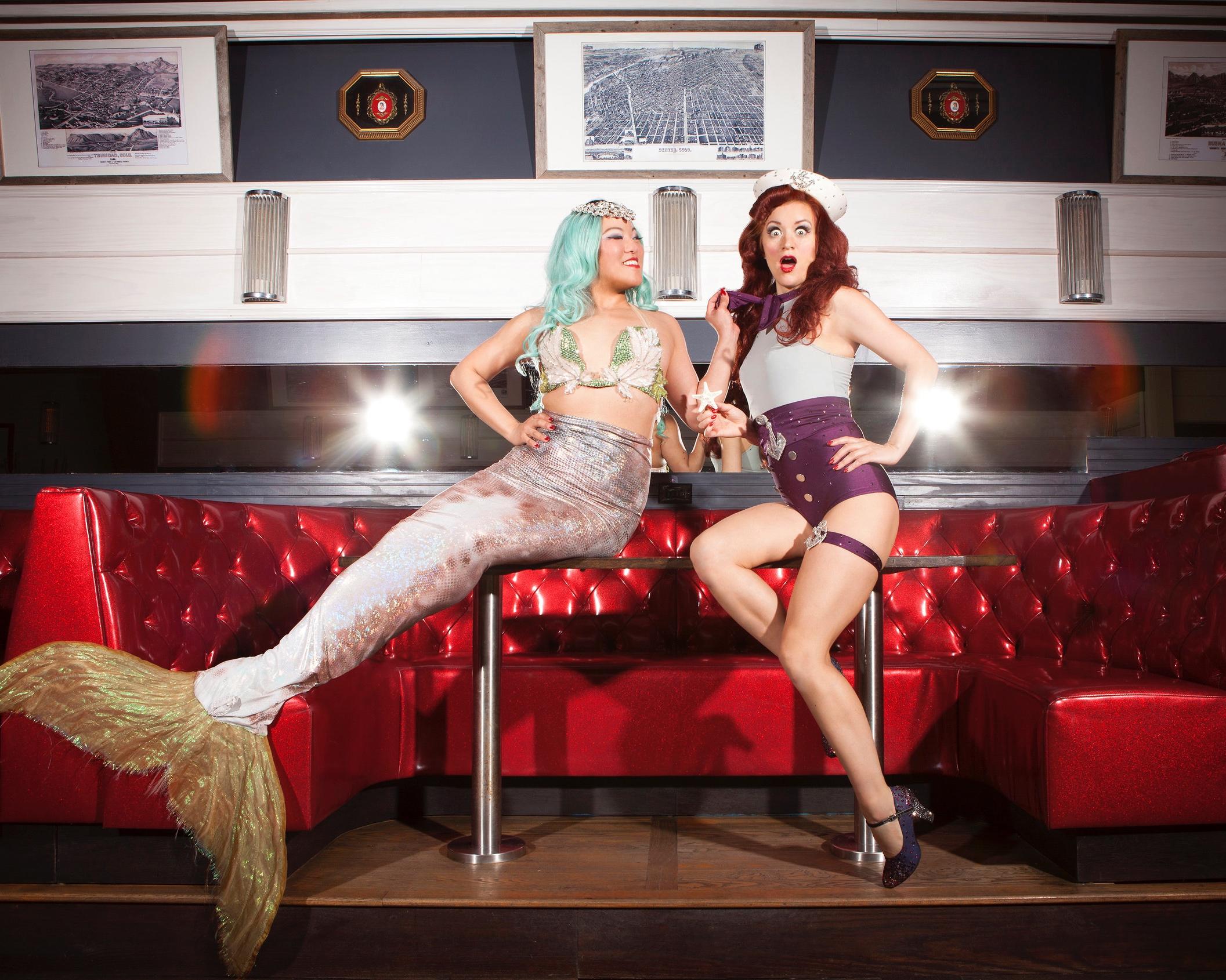 Minx Arcana & Francine at The Starliner