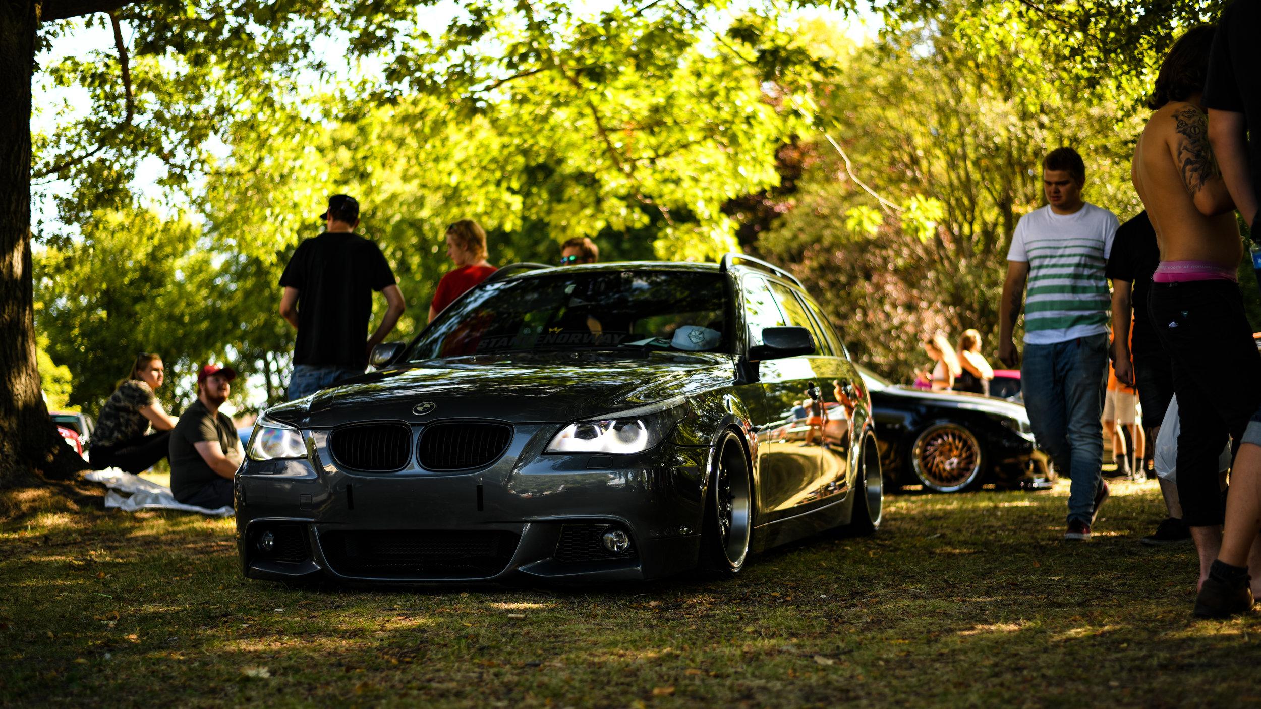 BMW E61 with F10 Bumper