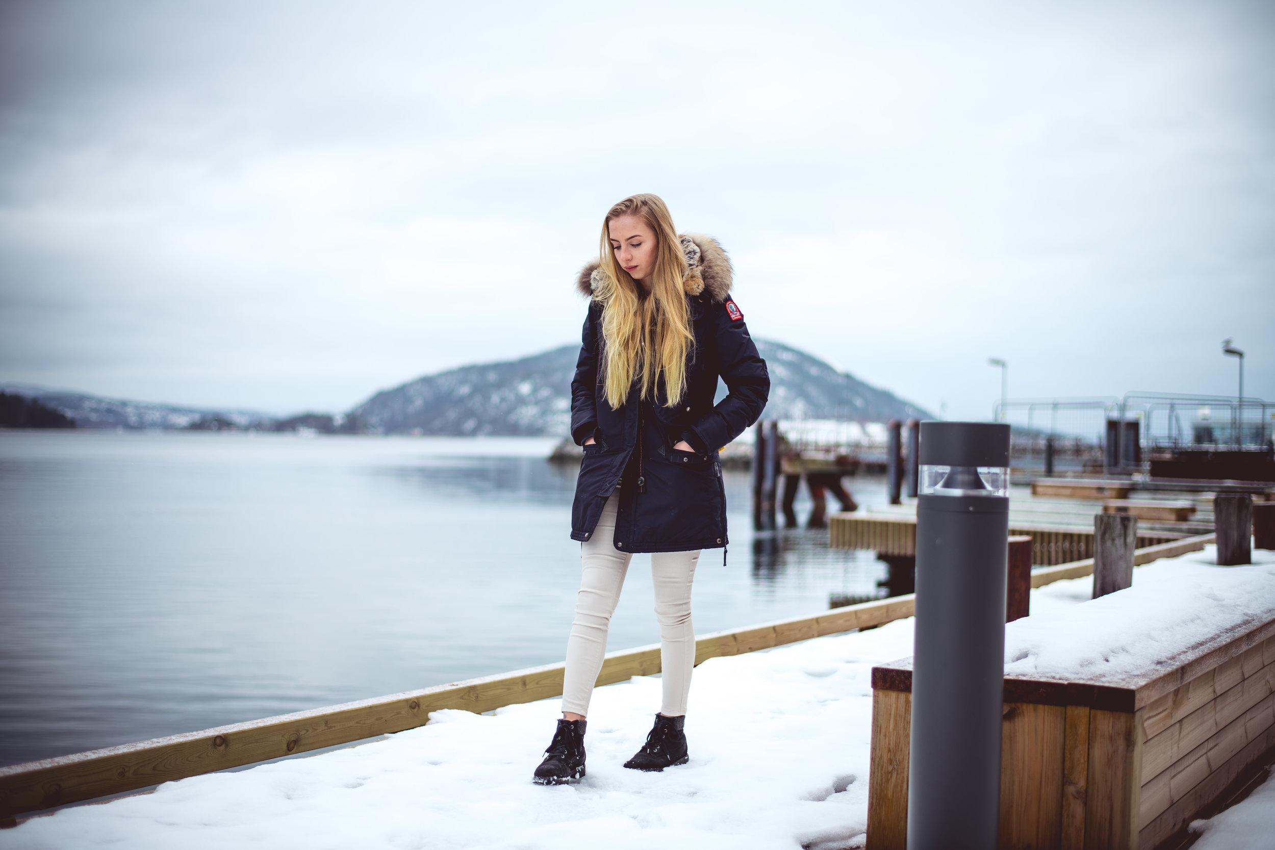 Model:   Camilla Grønvold Langholen