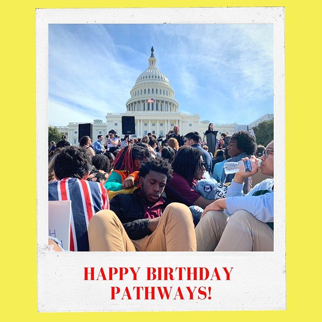 today is the day Pathways' name was born 🎈