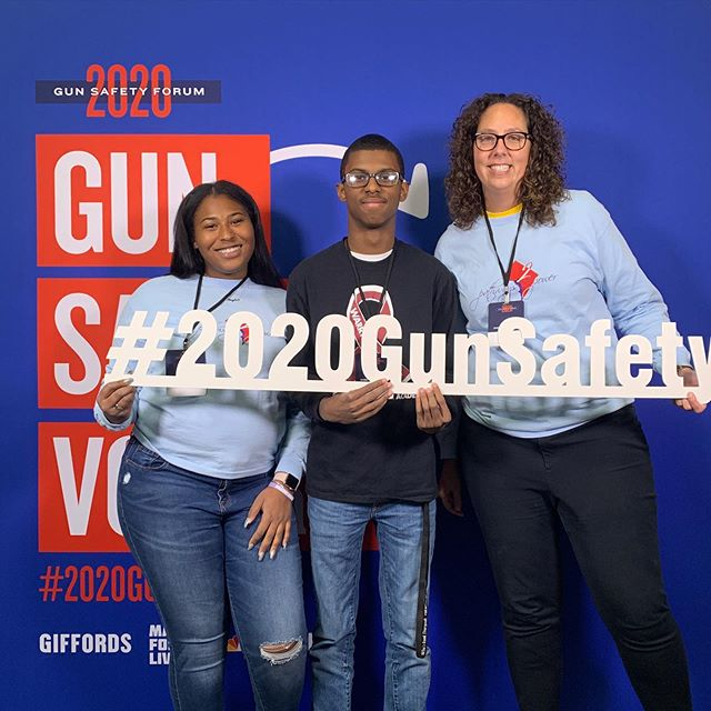 Pathway leaders are at the 2020 Gun Safety Forum in Las Vegas #2020gunsafety