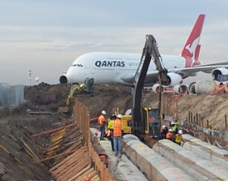 Bay A1 Apron Upgrade - LOCATION: SYDNEY AIRPORT, MASCOT NSW