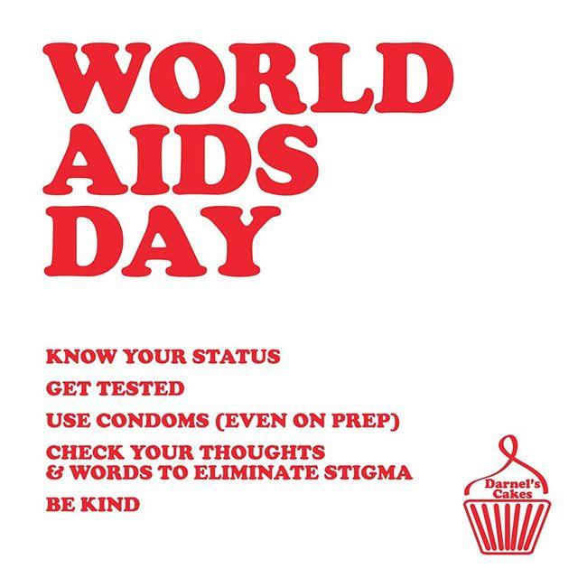 Do your part. #worldaidsday