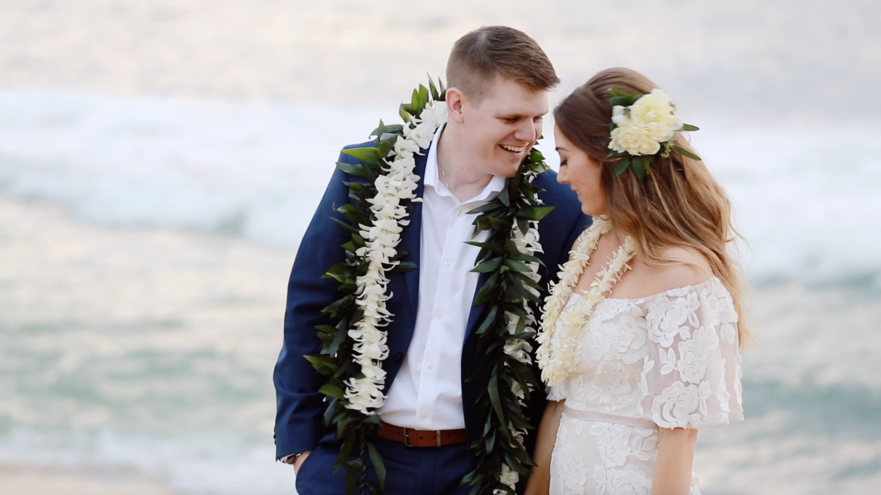 Kauai Wedding leis