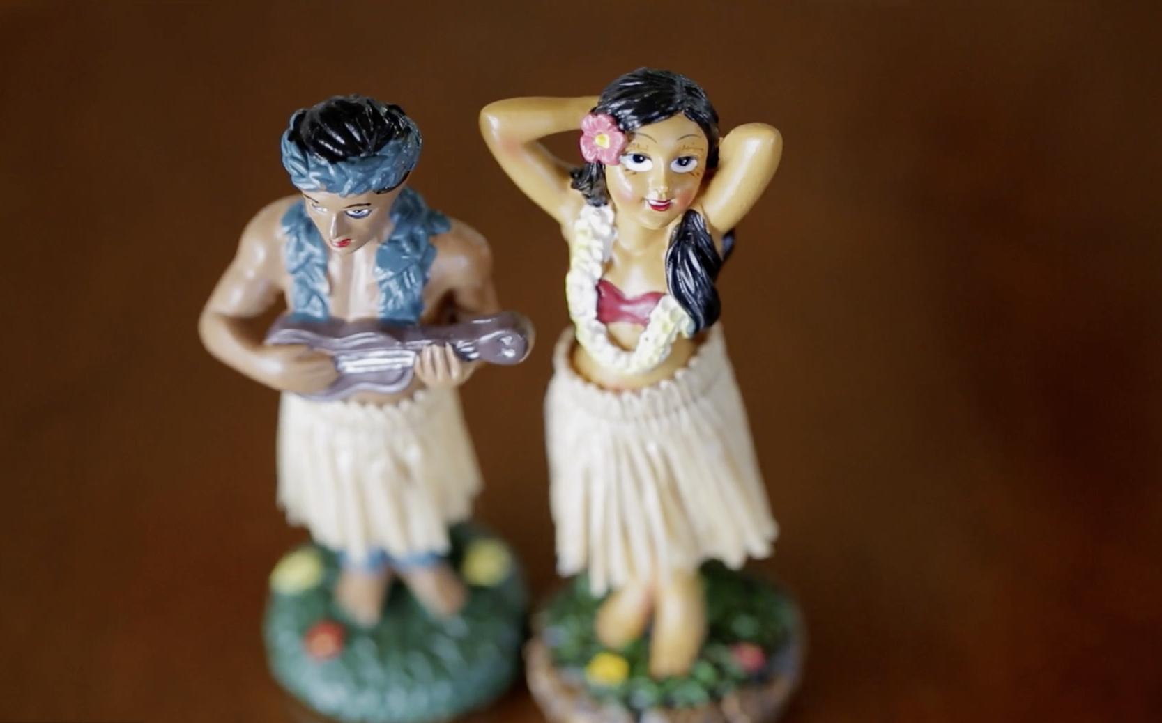 Hawaiian wedding decor