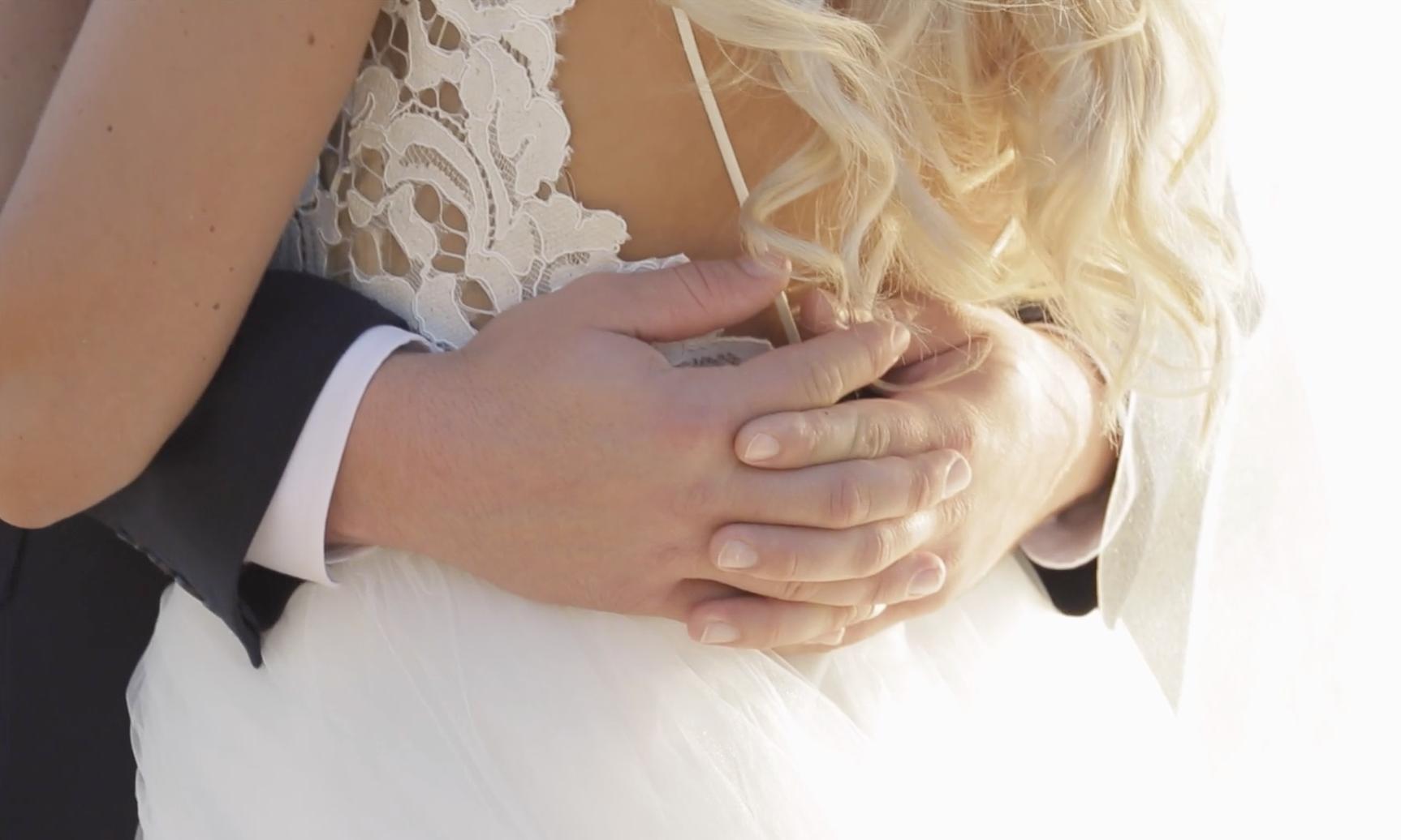 Beach wedding dress ideas // lace dress