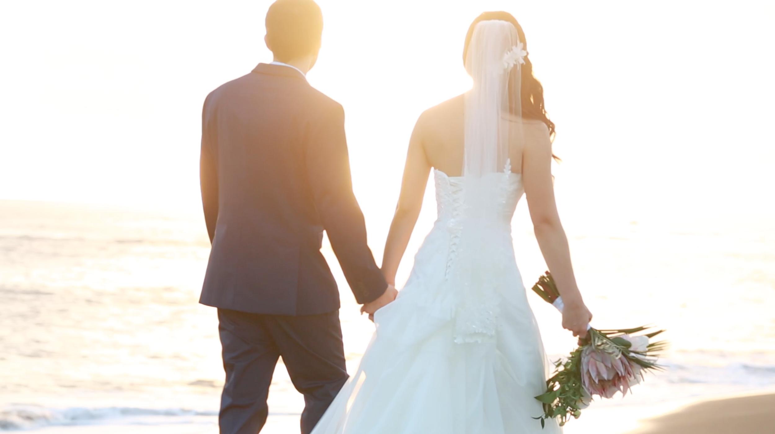 Destination wedding Hawaii beach