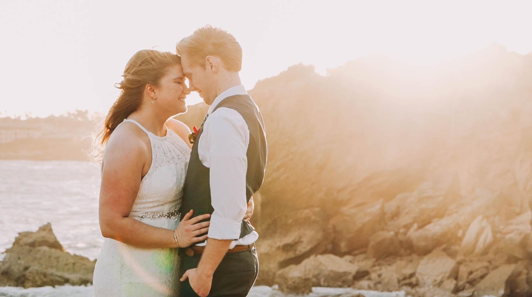Sunset Wedding Kauai