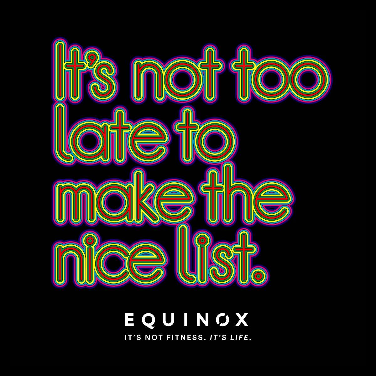 Equinox Gym animated quote