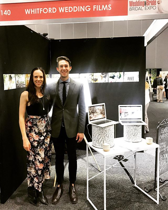 Getting hitched? Come and say Hi to us this weekend at the Melbourne Wedding & Bride Expo ✌🏻🎥♥️