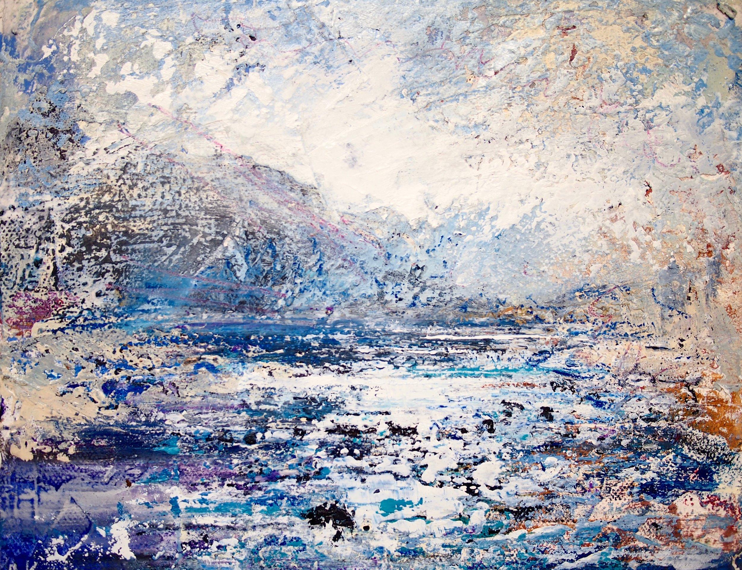 Afon Glaslyn 20 x 25 cm