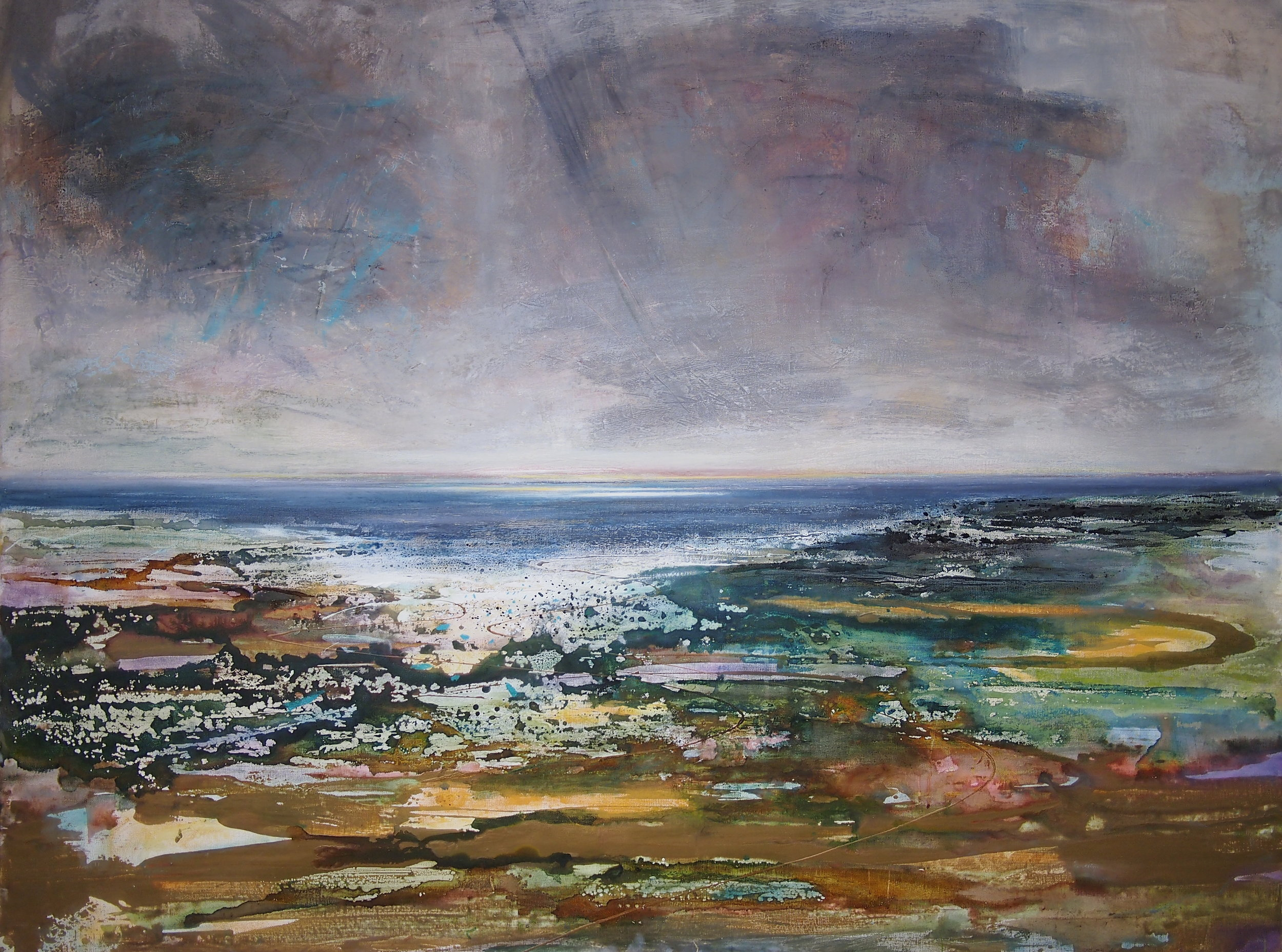 Last Light - Porthcawl - 120 x 160 cm