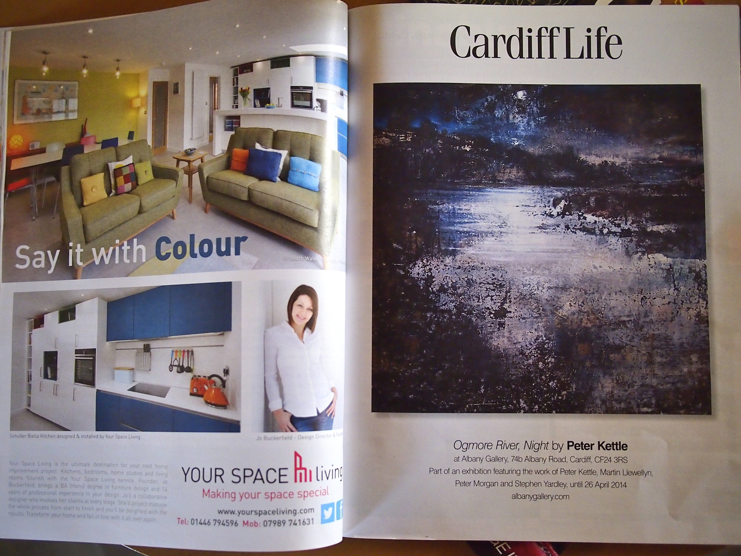 April 2014 edition of Cardiff Life Magazine