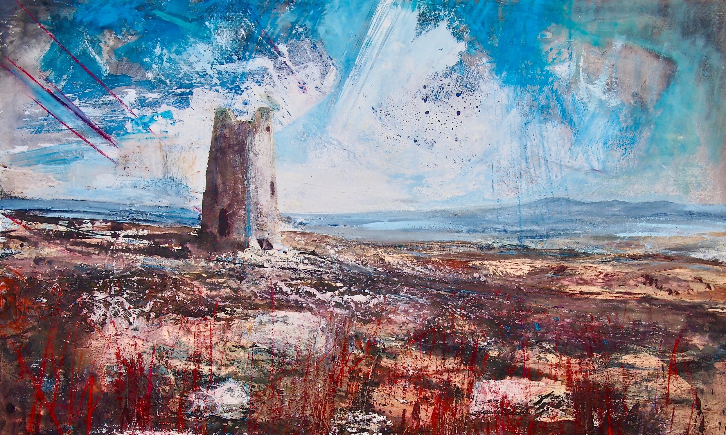 The Old Mill, Parys Mountain 100 x 67 cm (Prints Available)