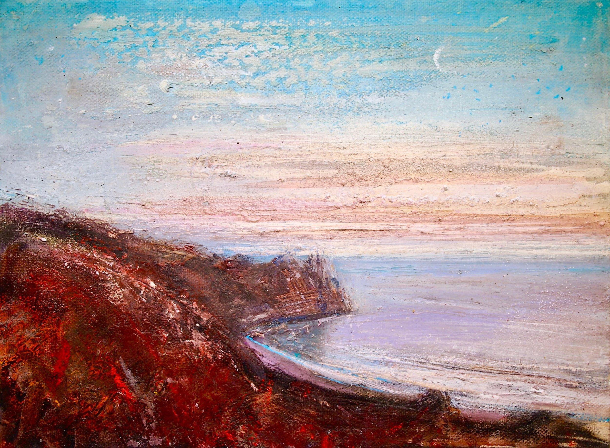 Tor Bay, Pembrokeshire - 30 x 25 cm