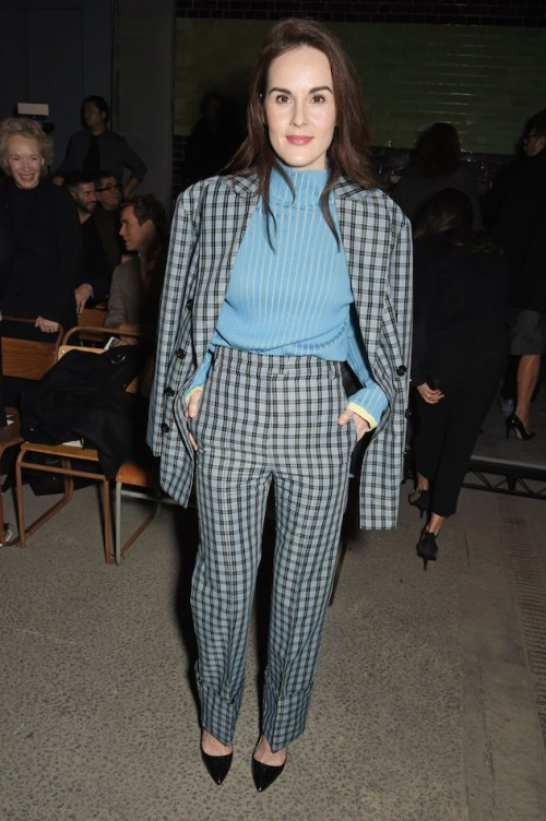 Michelle-Dockery-at-the-Burberry-February-2018-show.jpg