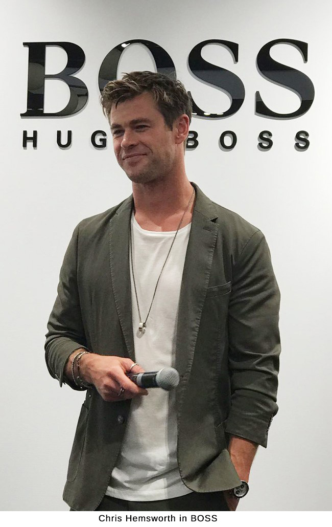 Chris Hemsworth in BOSS