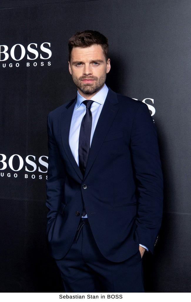 Sebastian Stan in BOSS