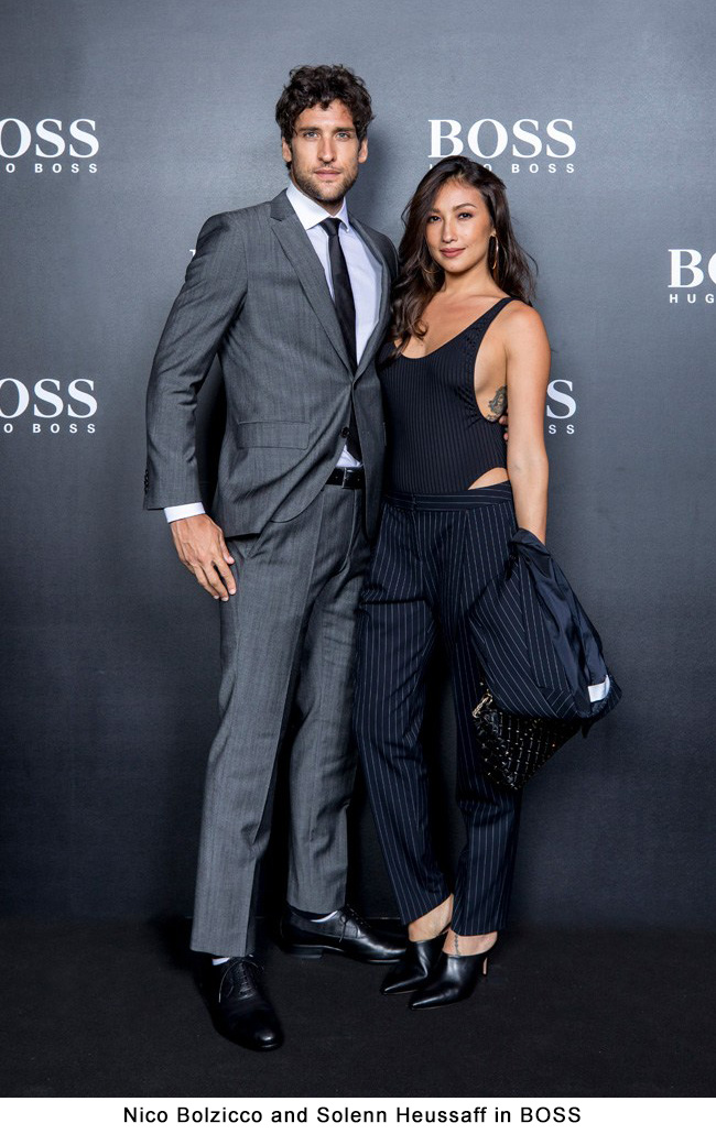 Nico Bolzicco and Solenn Heussaff in BOSS