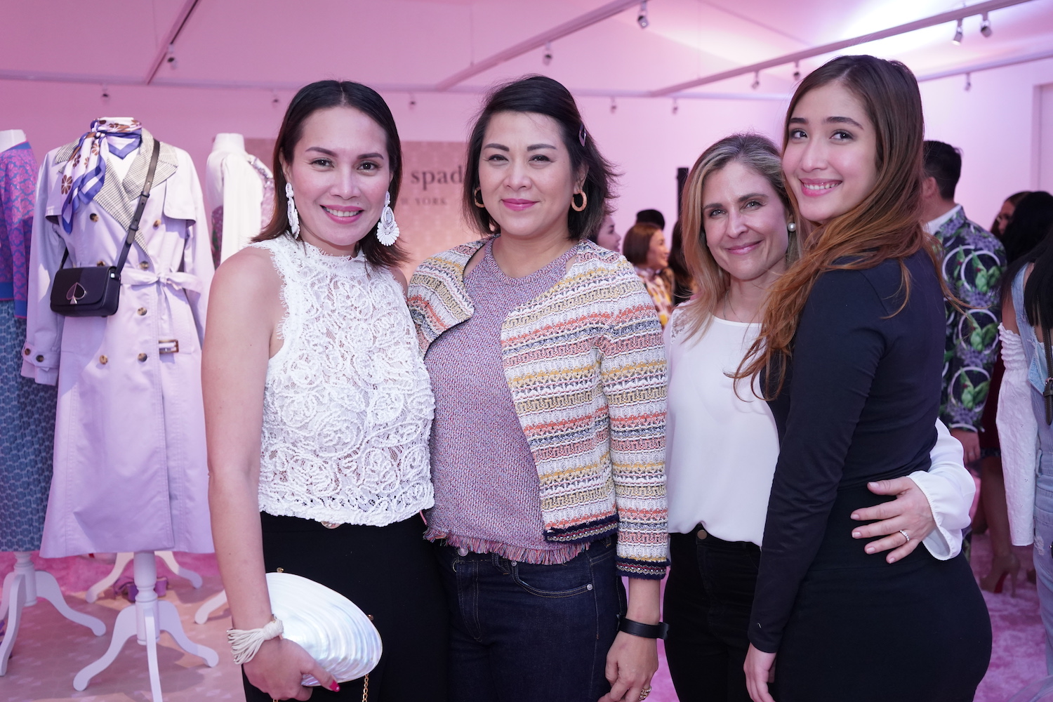 Jessica Guevarra-Everingham, Tina Pamintuan-Wheeler, Kourtney Camcam, and Dani Camcam.jpg