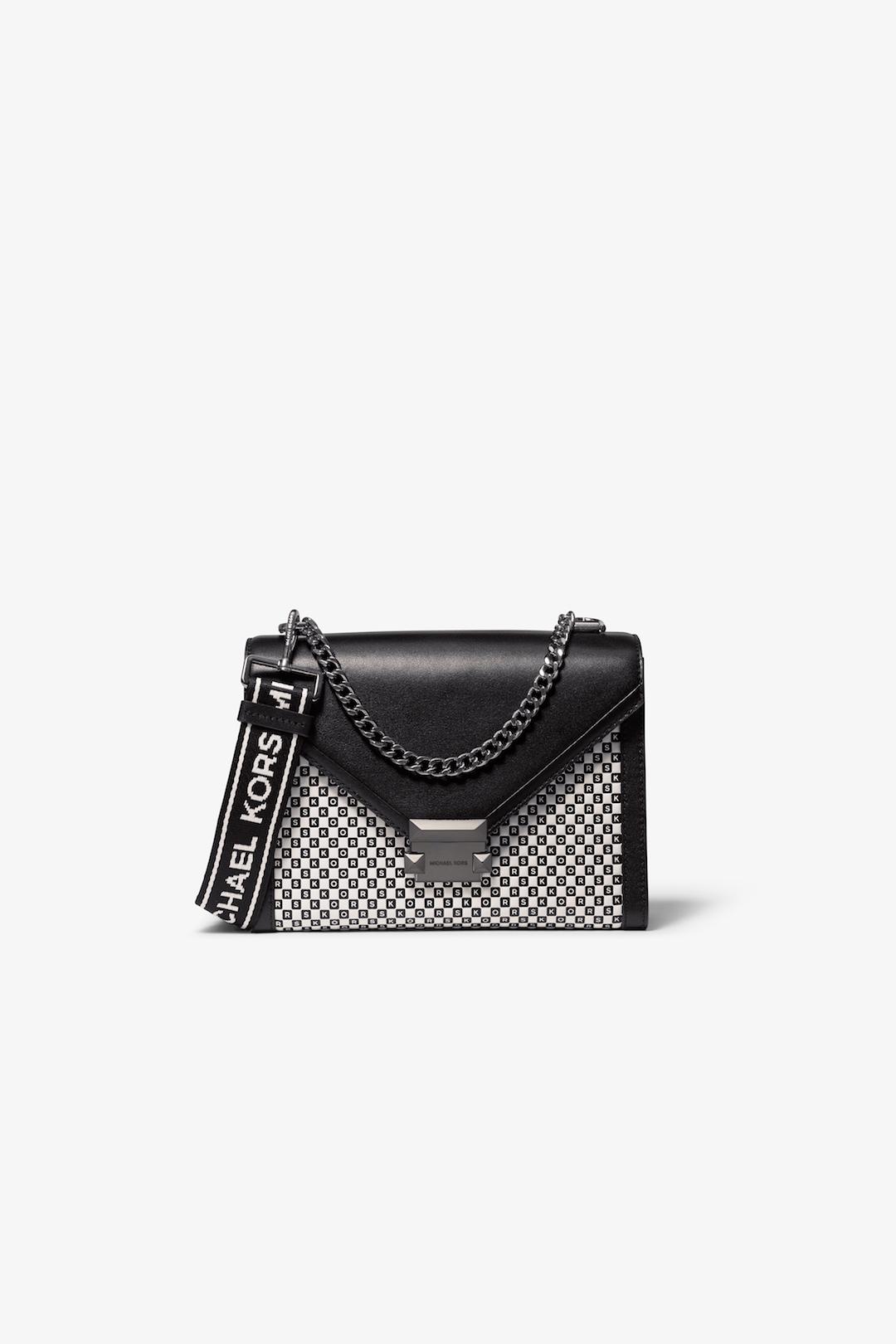 MICHAEL Michael Kors Checkered Leather Whitney Shoulder Bag.jpg