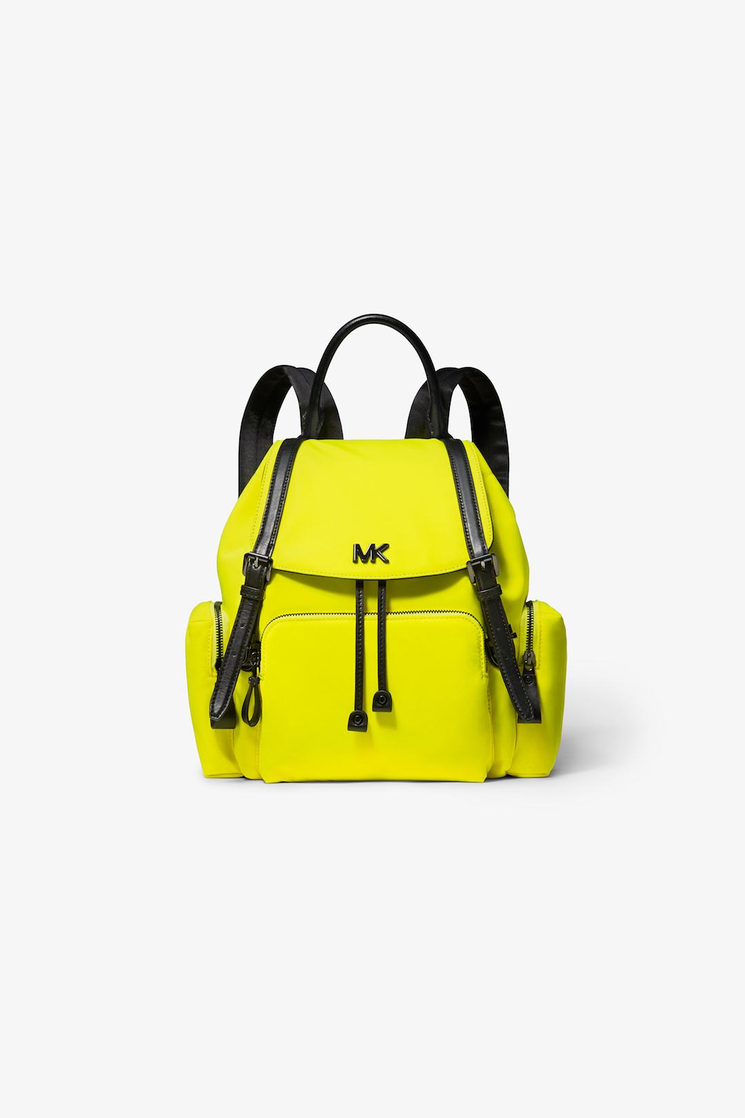 MICHAEL Michael Kors Neon Yellow Beacon Backpack.jpg