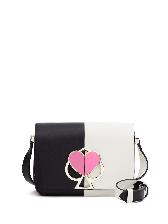 Kate Spade New York Nicola Bicolor Twistlock Small Flap Shoulder Bag.jpg