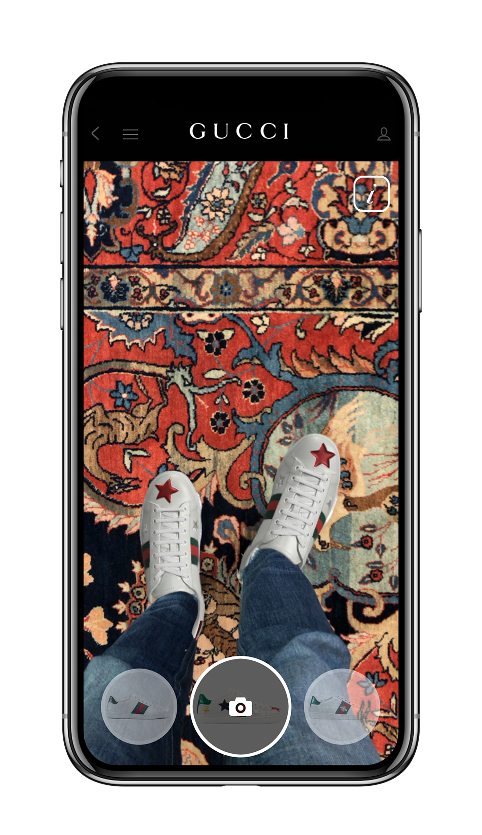 Gucci Ace Sneaker Try On App_Result 3.png