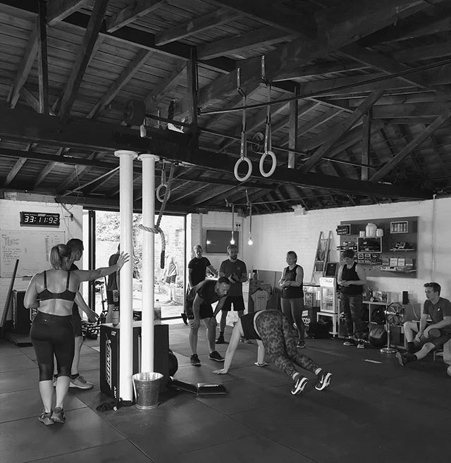 Loved the vibe in the gym this past week! Great community growing! . #crossfit #wearegrandunion #berkhamsted #burpees #pressups