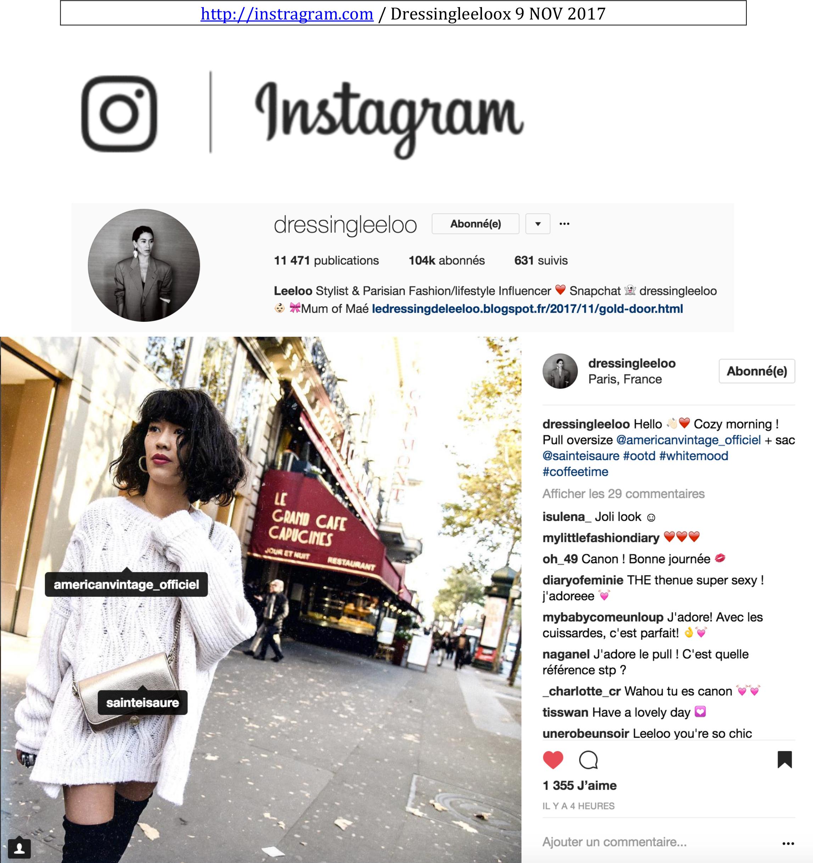 Novembre 2017 : Dressing Leeloo
