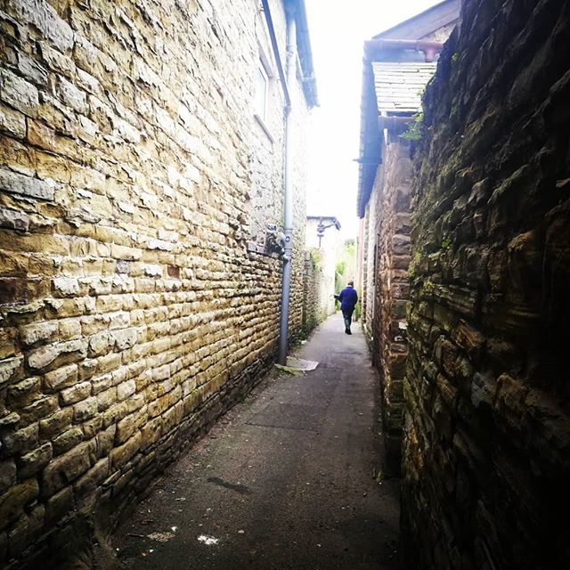 The alleyways of #Kington