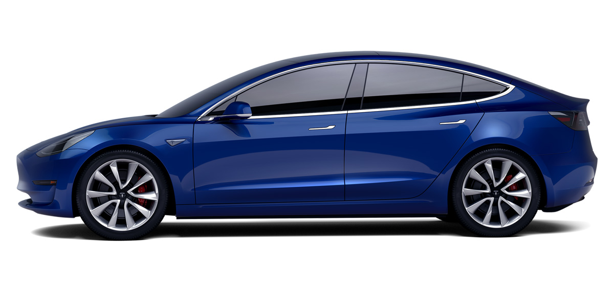 Lease a Tesla Model 3 Electric Car with WeVee