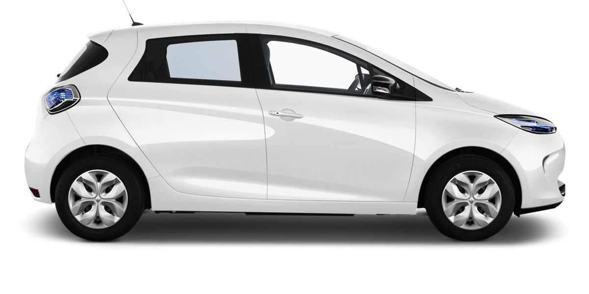 Lease a Renault Zoe Electric Car from WeVee
