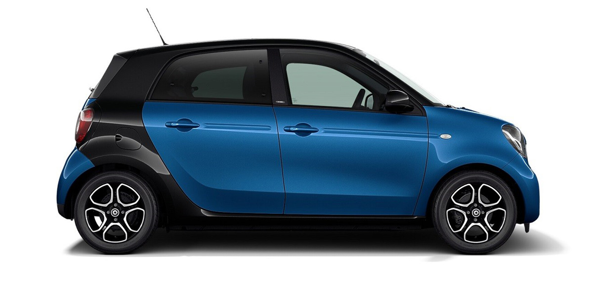 Lease a Smart EQ ForFour Electric Car with WeVee