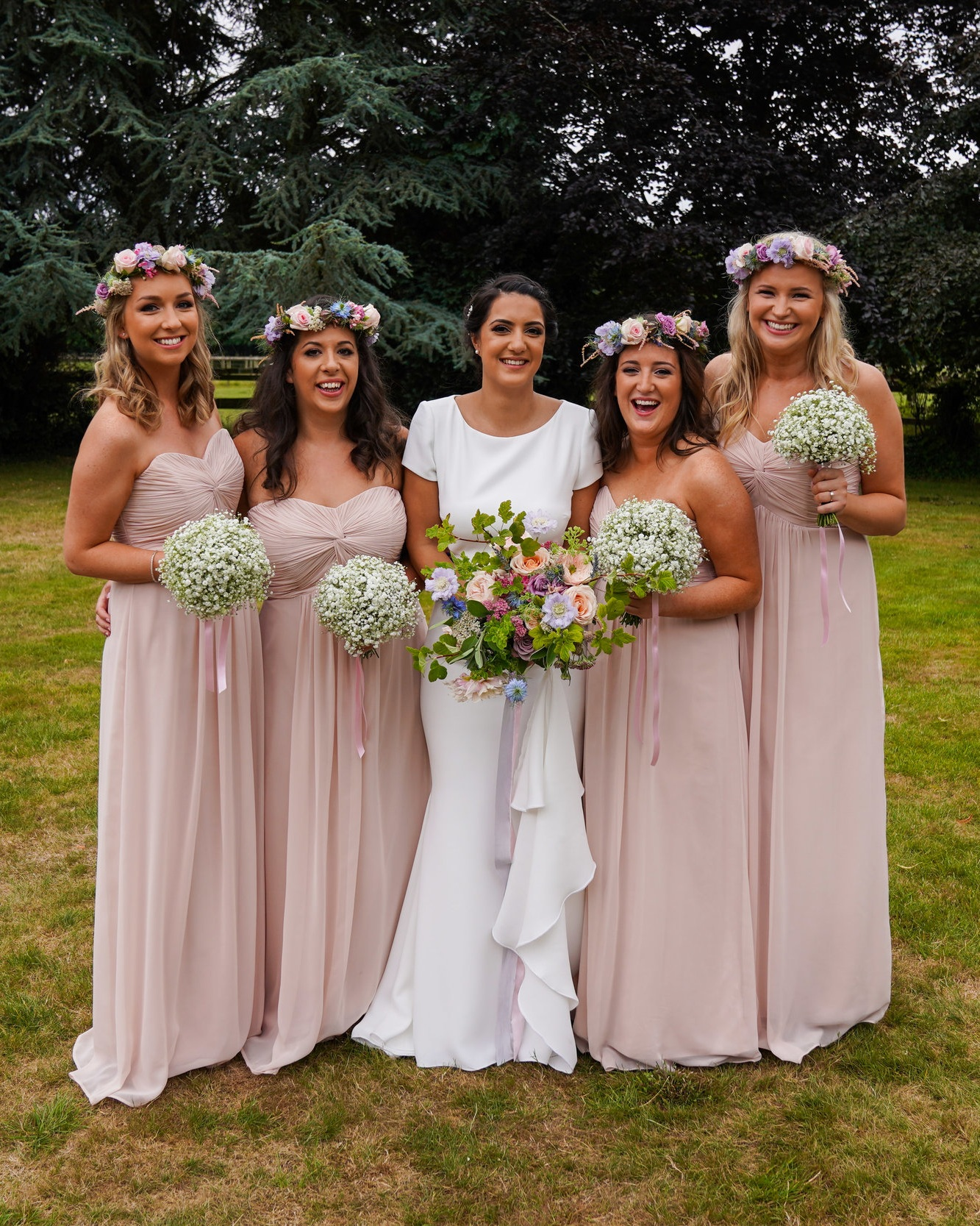 Sophie and bridesmaids makeup