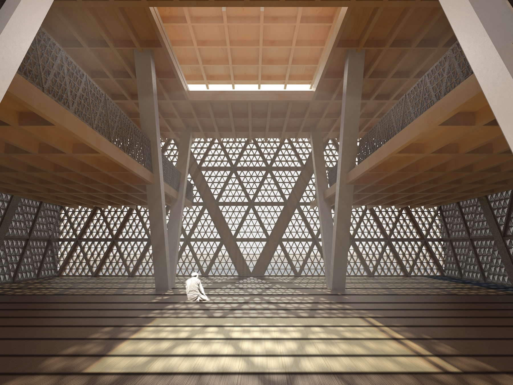 Ghana Mosque -