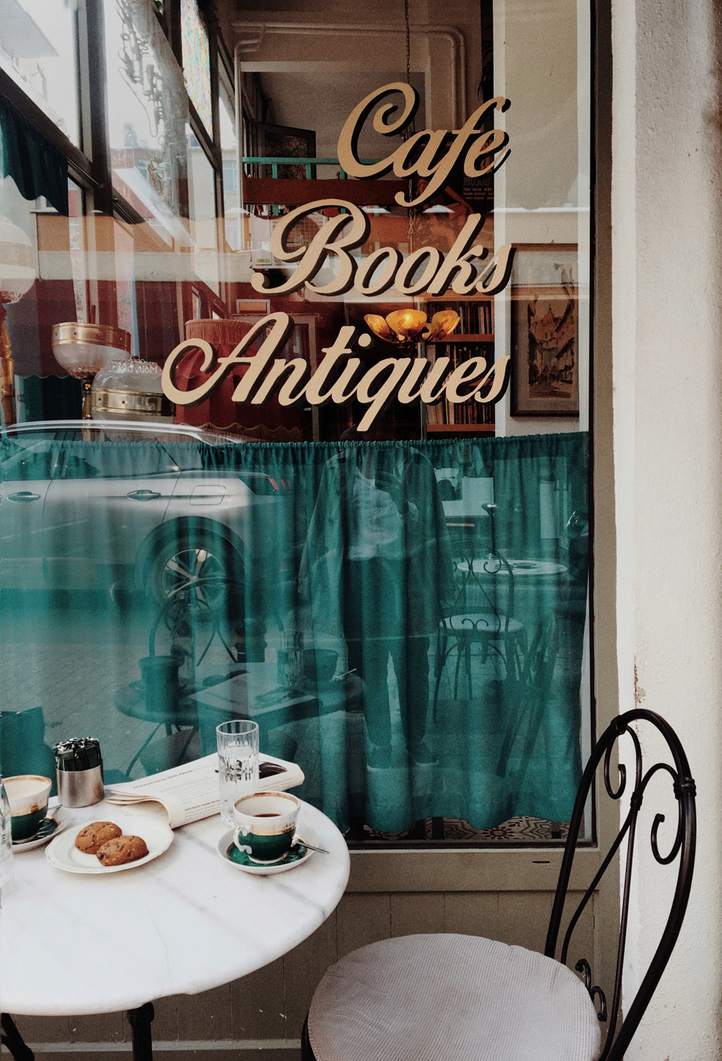 Cafe photography Project: we travel