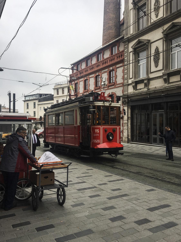 Nostalgic Tram in Taksim.jpg