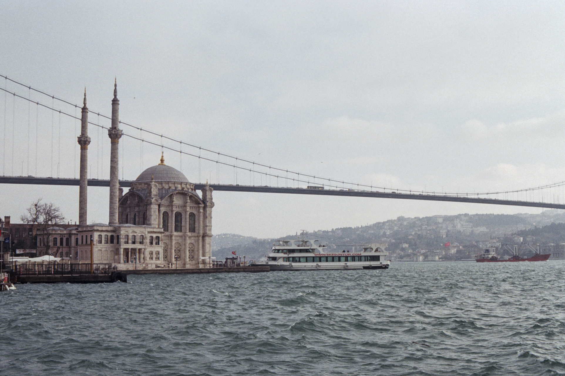 Bosphorus View from Ortakoy (fuji film c200).jpg