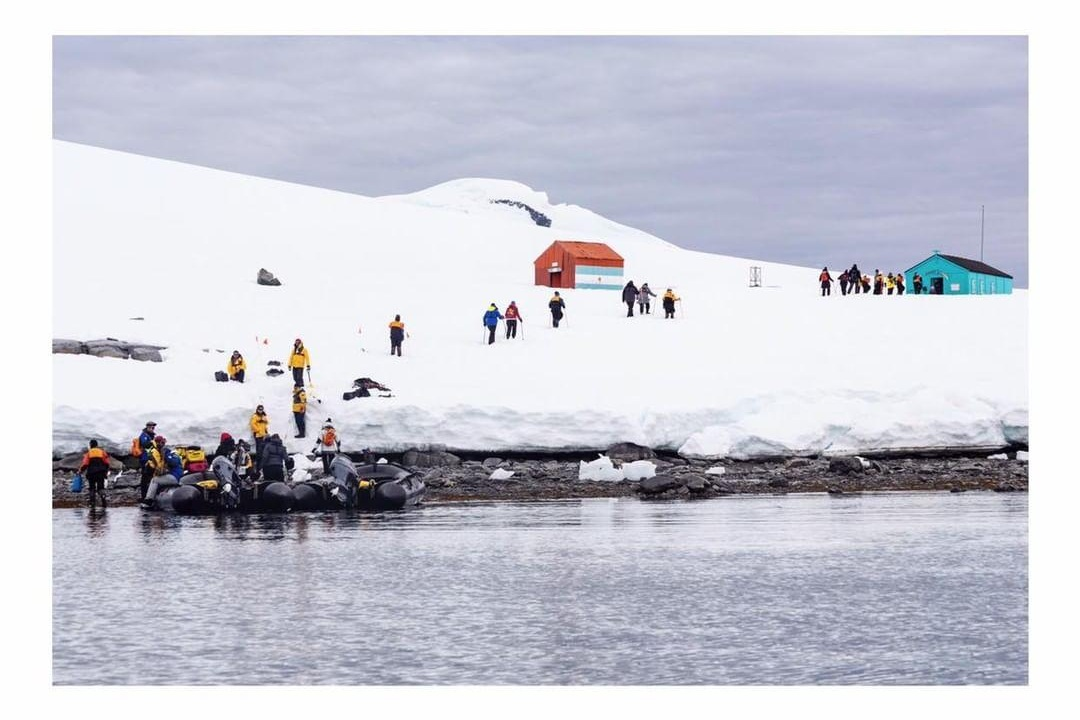 Antarctica expedition Project We travel