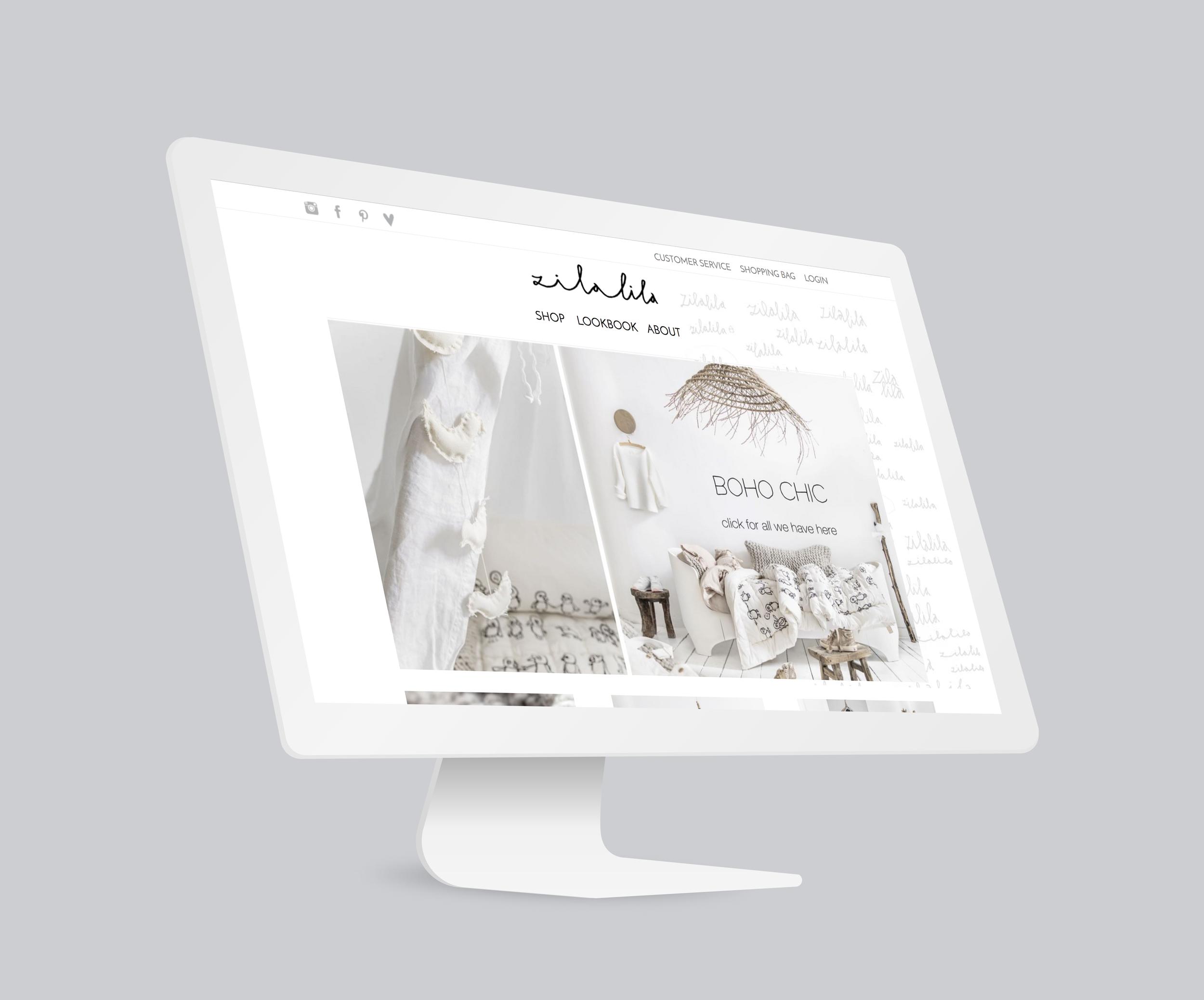 Zilalila    Voor organic label Zilalila mocht ik invulling geven aan de online content. Waar het webdesign stond, was de rest immers nog blanco. Van rake teksten tot goede beelden – de website is nu een plaatje. Net als hun handgemaakte items!